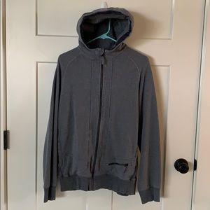 Men's lululemon zip-up hoodie, size M